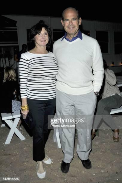 Marjorie Rosen and Jeffrey Rosen attend MARTHA STEWART and HARRY SLATKIN Birthday Celebration and Dinner at NAVY BEACH on August 20 2010 in Montauk NY