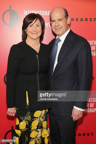 Marjorie Rosen and Jeffrey Rosen attend the International Center Of Photography's 2016 Infinity awards honoring outstanding achievements in...