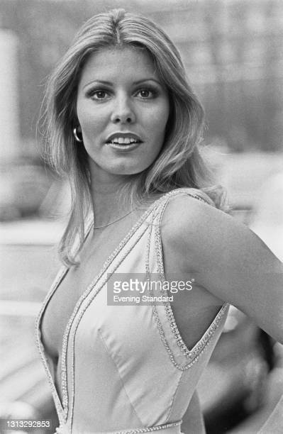 Marjorie Wallace, Miss USA, after winning the Miss World 1973 beauty pageant in London, UK, 28th November 1973. She was stripped of her title in...