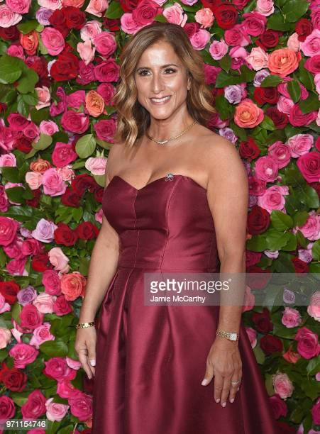 Marjory Stoneman Douglar teacher Melody Herzfeld attends the 72nd Annual Tony Awards at Radio City Music Hall on June 10 2018 in New York City