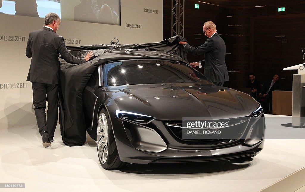 Mark Adams L Vice President Of General Motors Europe And Karl