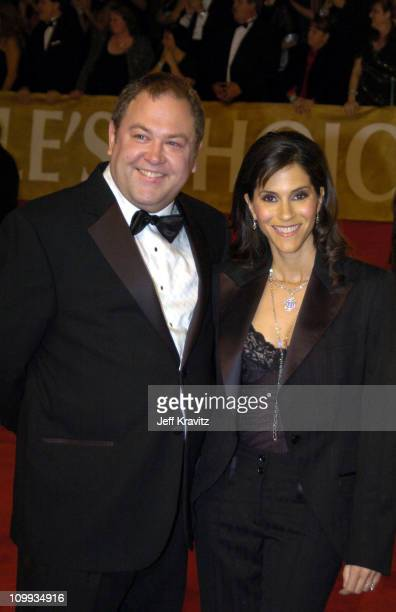 Mark Addy and Jami Gertz during The 30th Annual People's Choice Awards Arrivals at Pasadena Civic Auditorium in Pasadena California United States