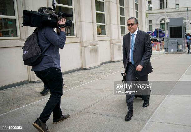 Mark Agnifilo the attorney representing alleged sex cult leader Keith Raniere arrives at the US District Court for the Eastern District of New York...