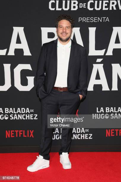 Mark Alazraki attends Netflix 'La Balada de Hugo Sanchez' special screening at Alboa Patriotismo on June 13 2018 in Mexico City Mexico