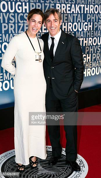 Mark and Alison Pincus arrive at the third annual Breakthrough Prize Ceremony at the NASA Ames Research Center in Mountain View California Prizes of...