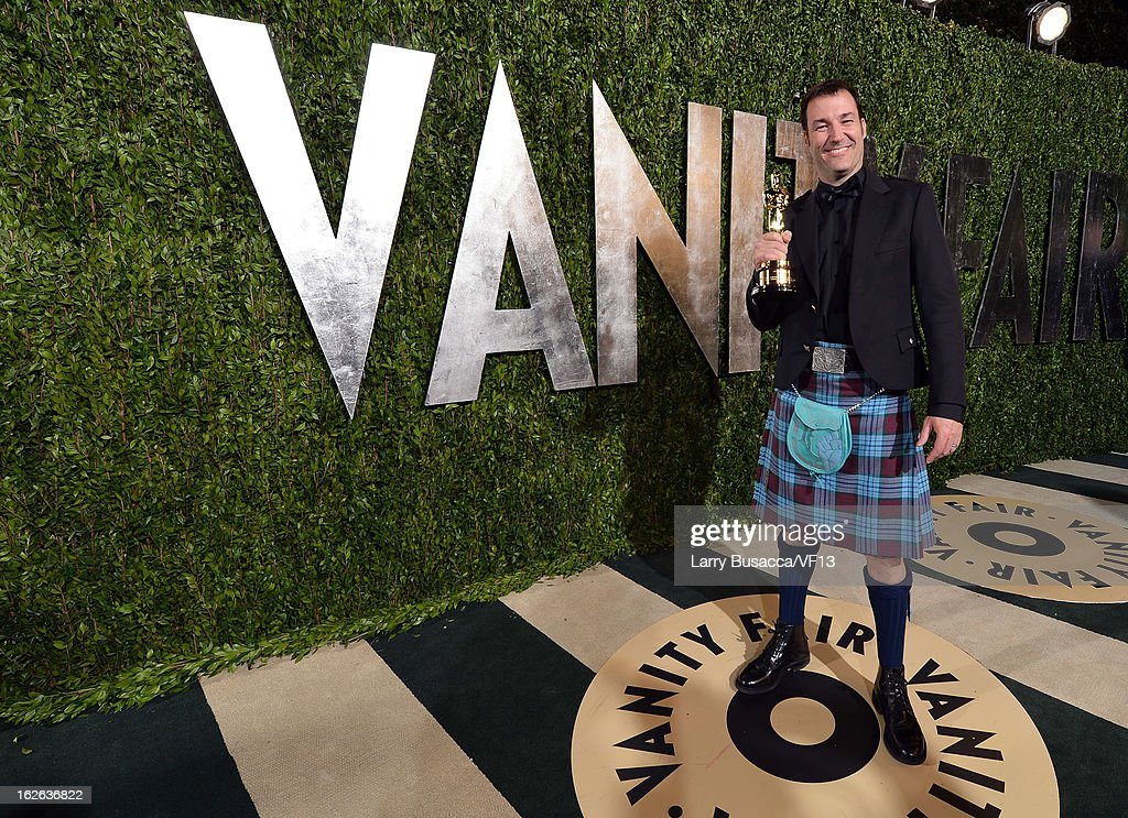 Mark Andrews arrives for the 2013 Vanity Fair Oscar Party hosted by Graydon Carter at Sunset Tower on February 24, 2013 in West Hollywood, California.