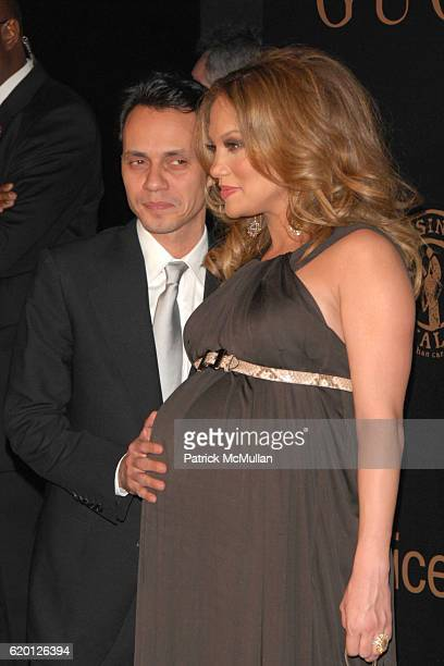 Mark Anthony and Jennifer Lopez attend GUCCI and MADONNA host A NIGHT TO BENEFIT RAISING MALAWI AND UNICEF at the United Nations on February 6 2008...