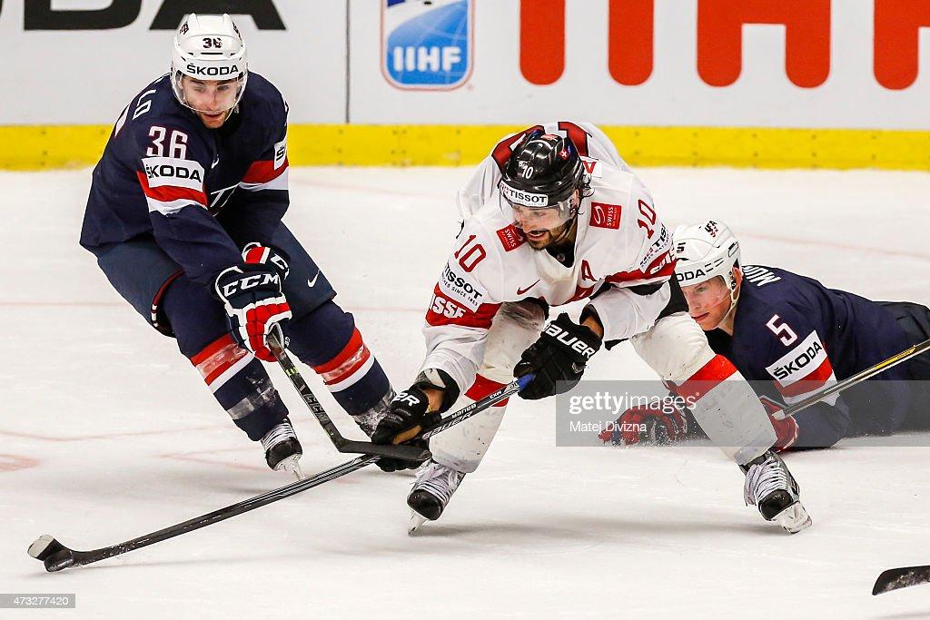 USA v Switzerland - 2015 IIHF Ice Hockey World Championship Quarter Final