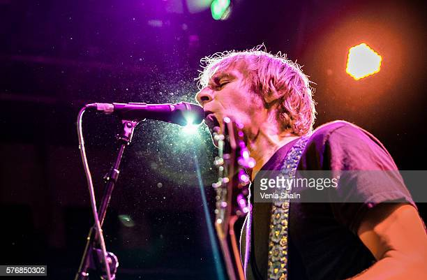 Mark Arm of Mudhoney performs at O2 Academy Islington on July 15, 2016 in London, England.