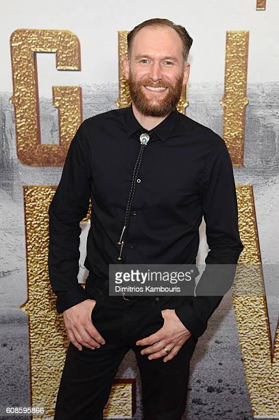 Mark Ashworth attends The Magnificent Seven premiere at Museum of Modern Art on September 19 2016 in New York City