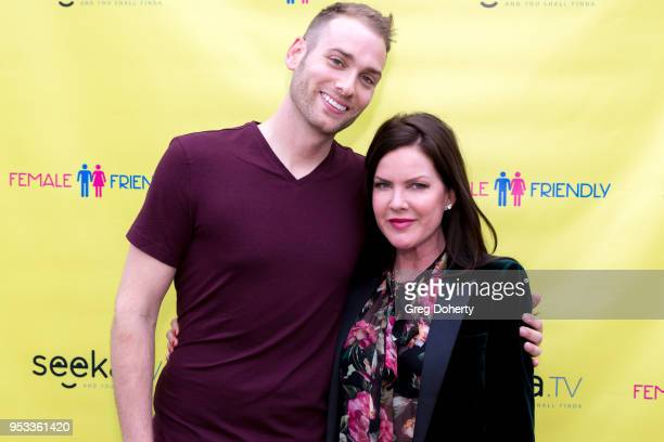 Mark Atherton and Kira Reed Lorsch attends the 'Female Friendly' Screening at The Three Clubs Hollywood Launching Now on April 30 2018 in Los Angeles...