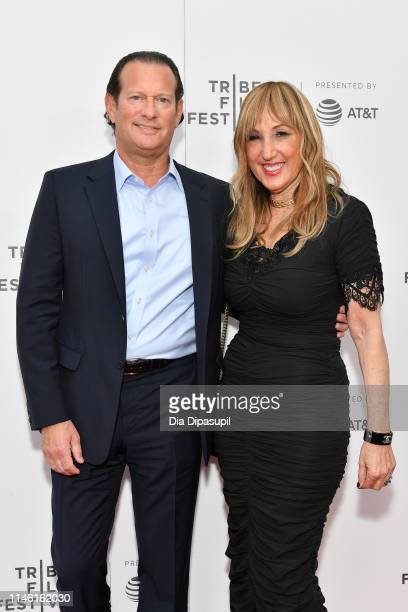 Mark Axelowitz and Joanna Plafsky attend the Driveways screening during the 2019 Tribeca Film Festival at Village East Cinema on April 30 2019 in New...