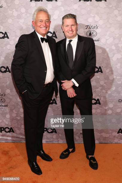 Mark Badgley and James Mischka attend the 21st annual ASPCA Bergh Ball at The Plaza Hotel on April 19 2018 in New York City