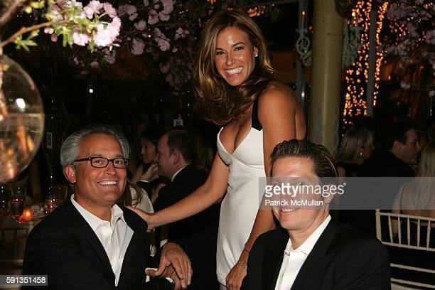 Mark Badgley Kelly Bensimon and James Mischka attend Gala Opening of the Martha Graham Dance Company 2005 New York Season Dinner Dancing and Silent...
