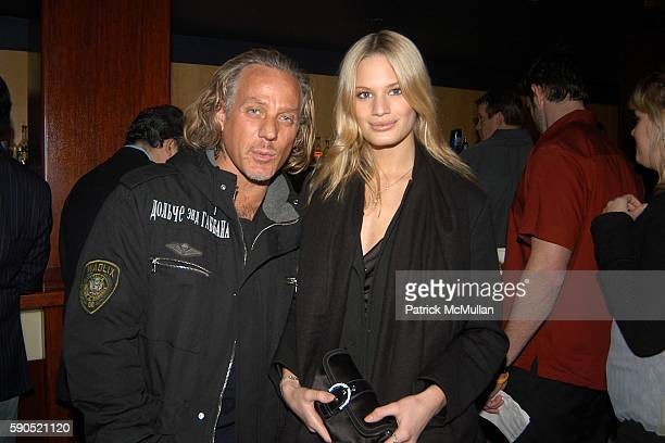 Mark Baker and Vicky Andren attend Lotus and Borgata Hotel Casino Host First Annual NYC Poker Championship at Lotus on January 18 2005 in New York...
