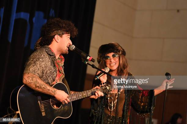 Mark Ballas and BC Jean at the Dream Halloween 2017 Costume Party Benefitting Starlight Children's Foundation presented by Michaels and Aaron...