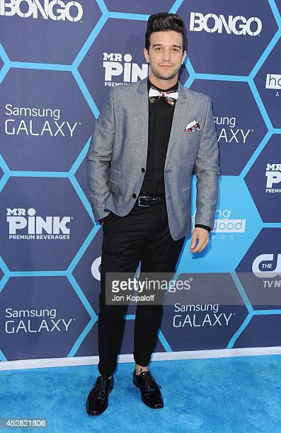 Mark Ballas arrives at the 16th Annual Young Hollywood Awards at The Wiltern on July 27 2014 in Los Angeles California