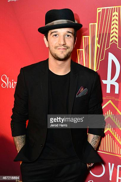 Mark Ballas attends the 2015 Royal Ball Hollywood Gala at Millennium Biltmore Hotel on March 21 2015 in Los Angeles California