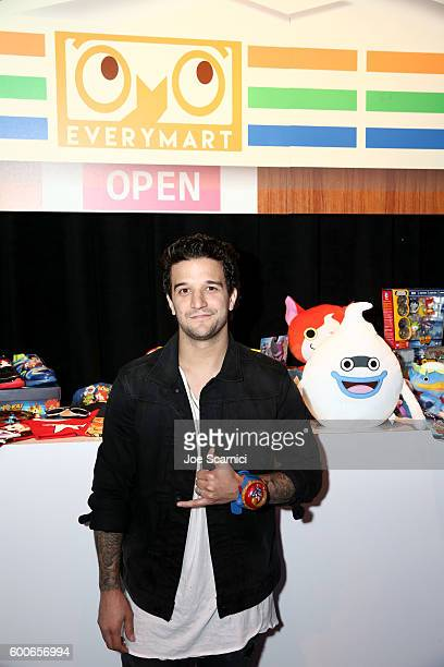 Mark Ballas of ABC's Dancing with the Stars attends the YOKAI WATCH 2 preview event at Siren Studios on September 8 2016 in Hollywood California