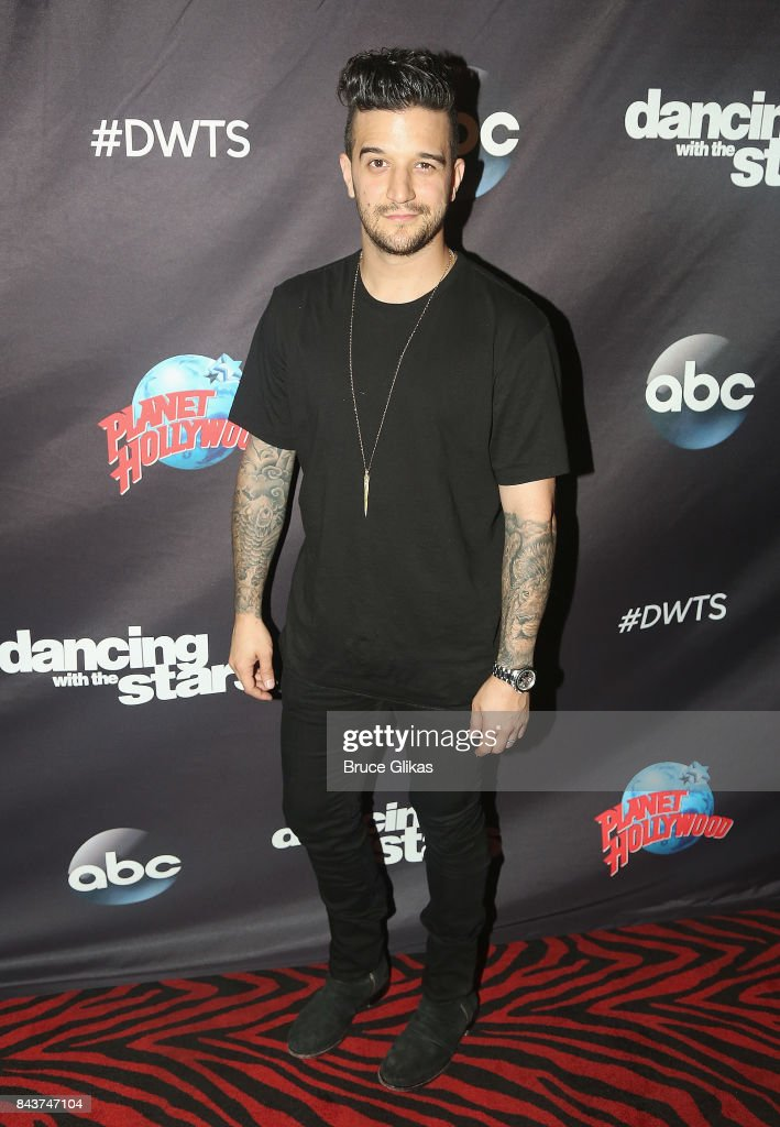 Mark Ballas poses at ABC's 'Dancing with the Stars' Season 5 cast announcement event at Planet Hollywood Times Square on September 6, 2017 in New York City.