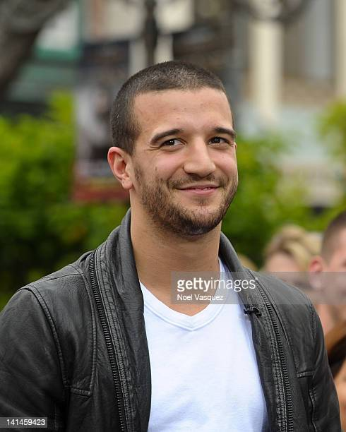 Mark Ballas visits Extra at The Grove on March 16 2012 in Los Angeles California