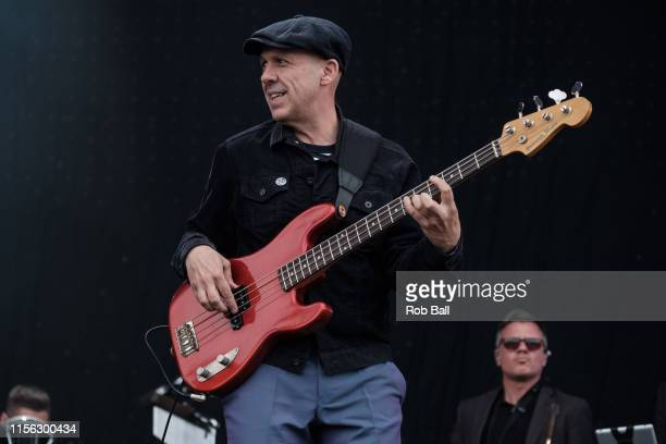 Mark Bedford from Madness performs on stage during Isle of Wight Festival 2019 at Seaclose Park on June 16 2019 in Newport Isle of Wight