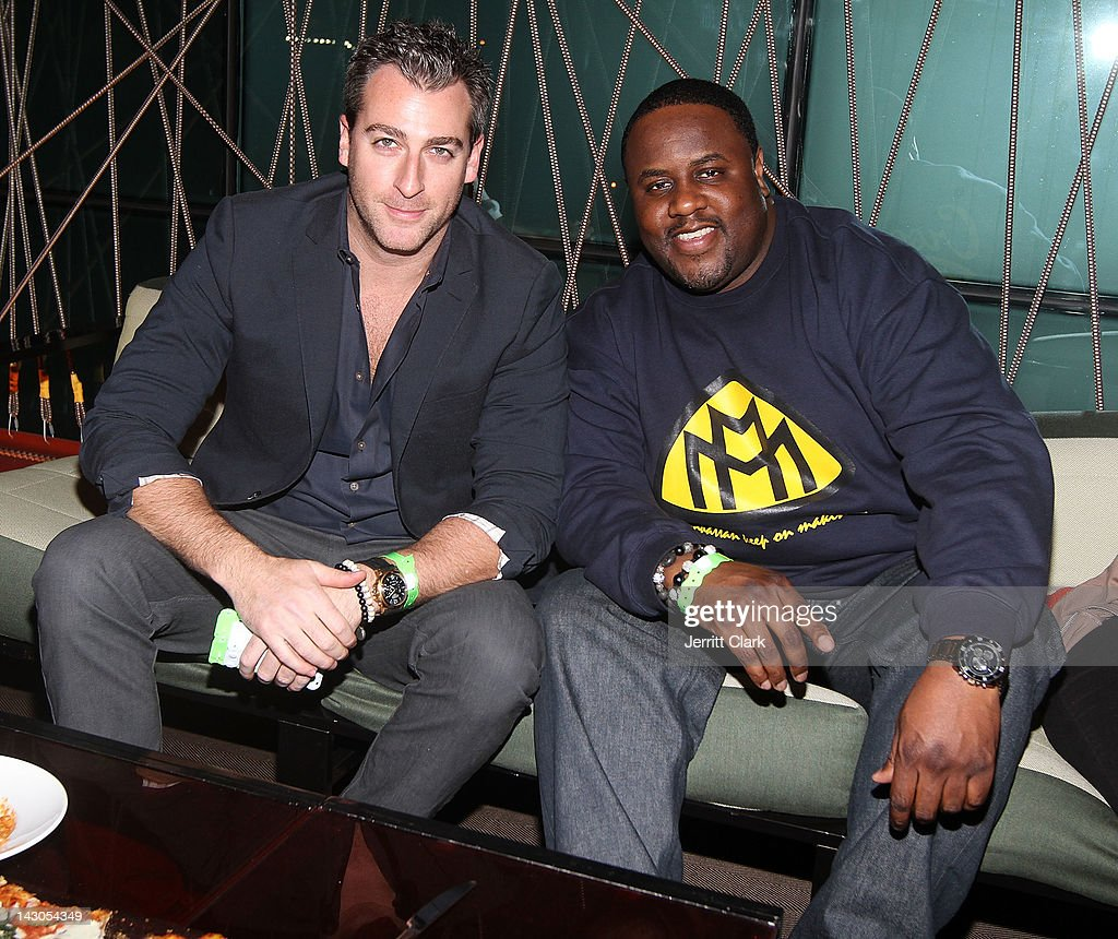 The chandelier room 3 year anniversary party photos and images mark birnbaum and jamal gravy woolard attend the 3 year anniversary party at the arubaitofo Image collections