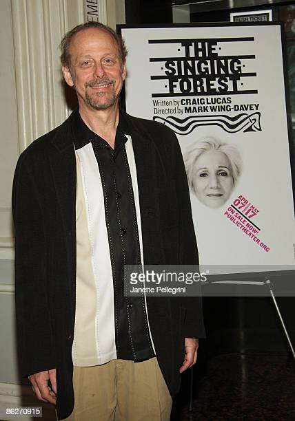 Mark Blum attends the opening night of The Singing Forest at The Public Theater on April 28 2009 in New York City