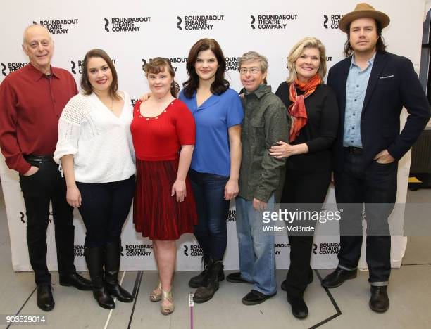 Mark Blum Vanessa Aspillaga Jamie Brewer Diane Davis Edward Barbanell Debra Monk and Josh McDermitt attend the Meet Greet for the cast of Amy and the...