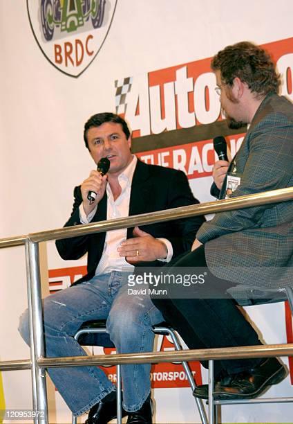 Mark Blundell during Autosport International Racing Car Show - 2006 at NEC Arena in Birmingham, Great Britain.