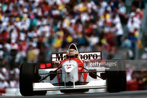 Mark Blundell McLarenMercedes MP4/10B Grand Prix of Canada Circuit Gilles Villeneuve 11 June 1995