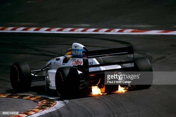 Mark Blundell, Tyrrell-Yamaha 022, Grand Prix of Belgium, Circuit de Spa-Francorchamps, 28 August 1994.