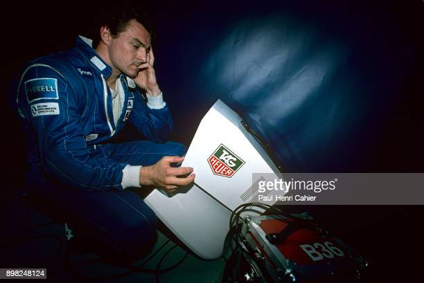 Mark Blundell TyrrellYamaha 022 Grand Prix of France Circuit de Nevers MagnyCours 03 July 1994