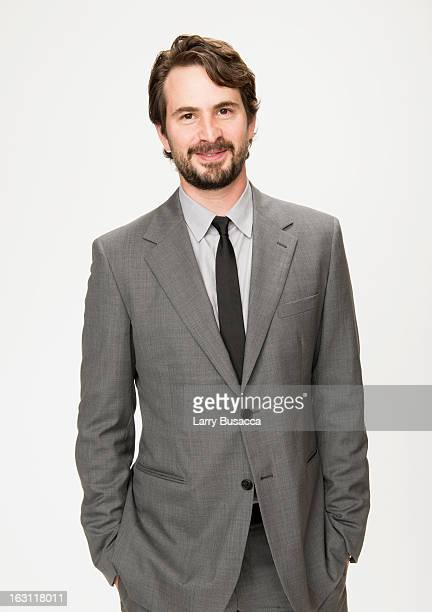 Mark Boal attends the Peoplecom Portrait Gallery at the 85th Academy Awards Nominees Luncheon at The Beverly Hilton Hotel on February 4 2013 in...
