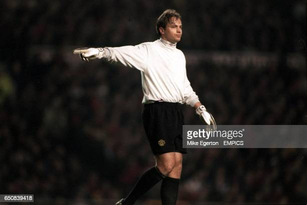 Mark Bosnich Manchester United goalkeeper