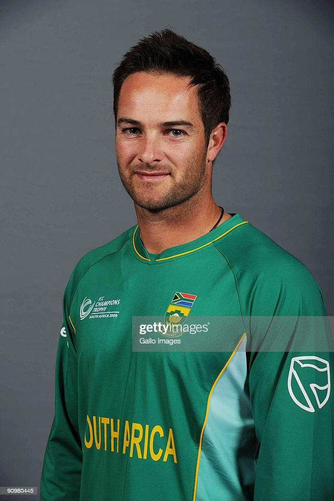 Mark Boucher of South Africa poses during an ICC Champions photocall session at Sandton Sun on September 19, 2009 in Sandton, South Africa.