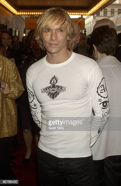 "Mark Bouwer arrives at the opening night of ""Caroline or Change"" , May 2, 2004 in New York City."