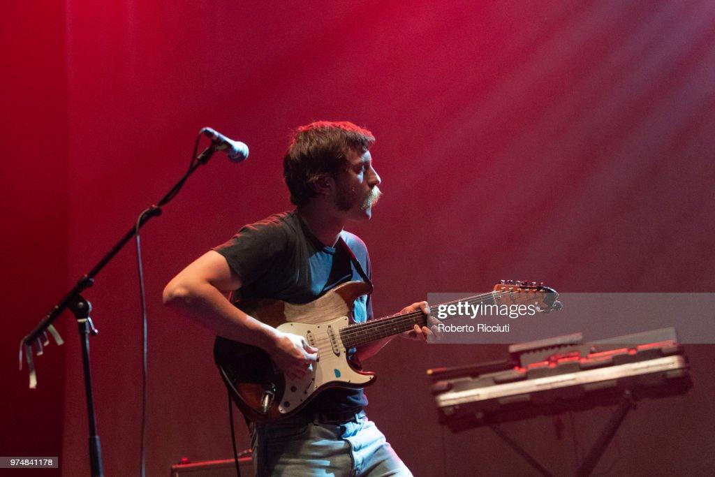 Future Islands Perform At Usher Hall, Edinburgh : News Photo