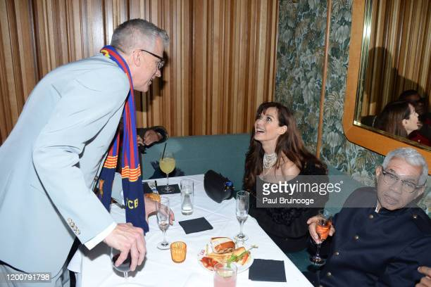 Mark Bozek and Carol Alt attend MAC Nordstrom And The CFDA Host The After Party For The Times Of Bill Cunningham at Bistrot Leo on February 13 2020...