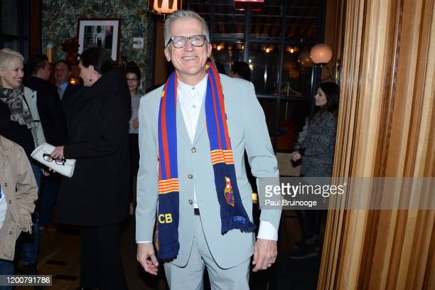 Mark Bozek attends MAC Nordstrom And The CFDA Host The After Party For The Times Of Bill Cunningham at Bistrot Leo on February 13 2020 in New York...