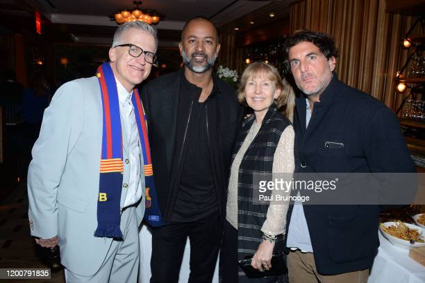 Mark Bozek Ronnie Madra Jayne Harkness and Jesse Cole attend MAC Nordstrom And The CFDA Host The After Party For The Times Of Bill Cunningham at...