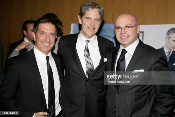 d9bfb096cd Mark Brashear Pete Hunsinger and Giorgio Canali attend GQ NORDSTROM Guide  to MEN S STYLE at The