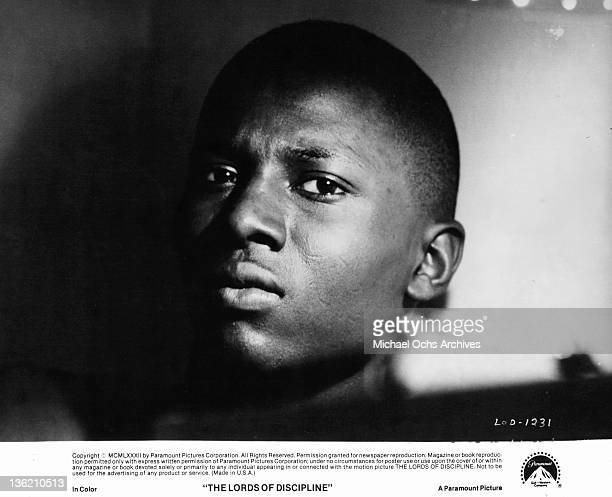 Mark Breland starring in a scene from the film 'The Lords Of Discipline' 1983