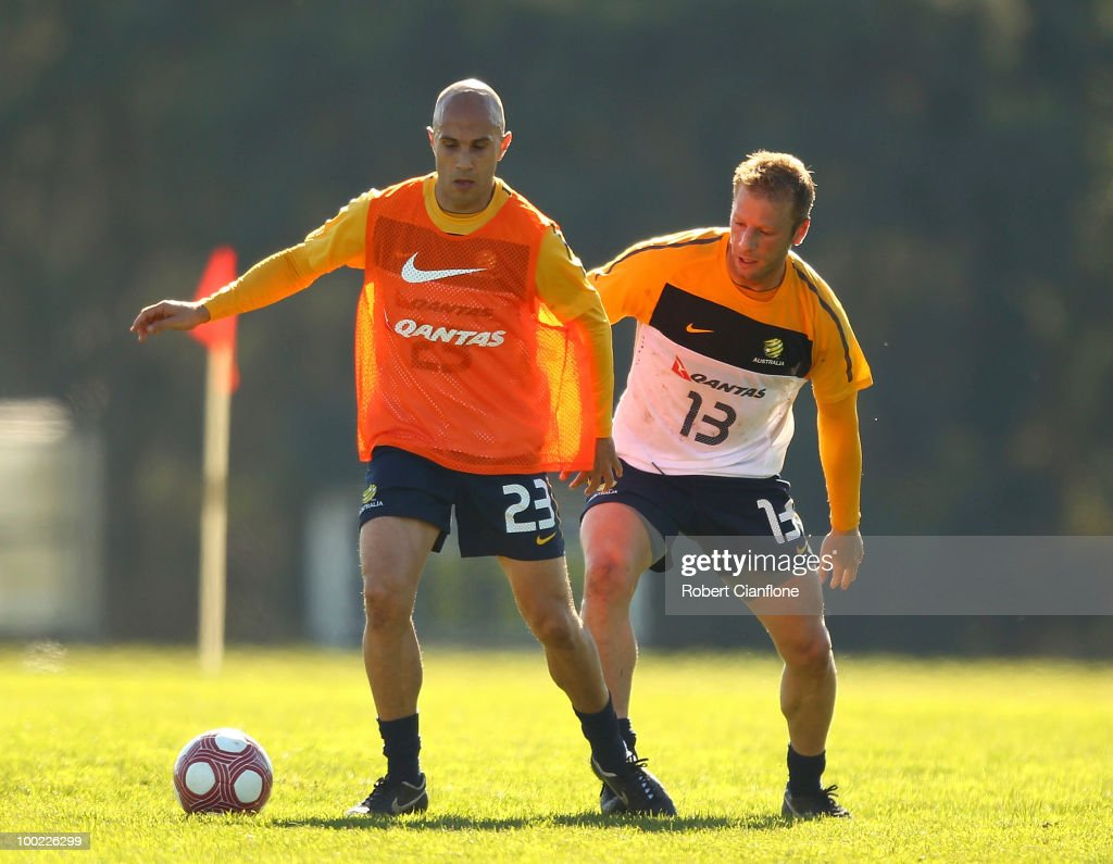 Socceroos Training Session
