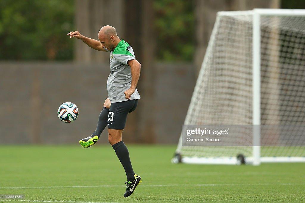 Australia Training Session - 2014 FIFA World Cup Brazil