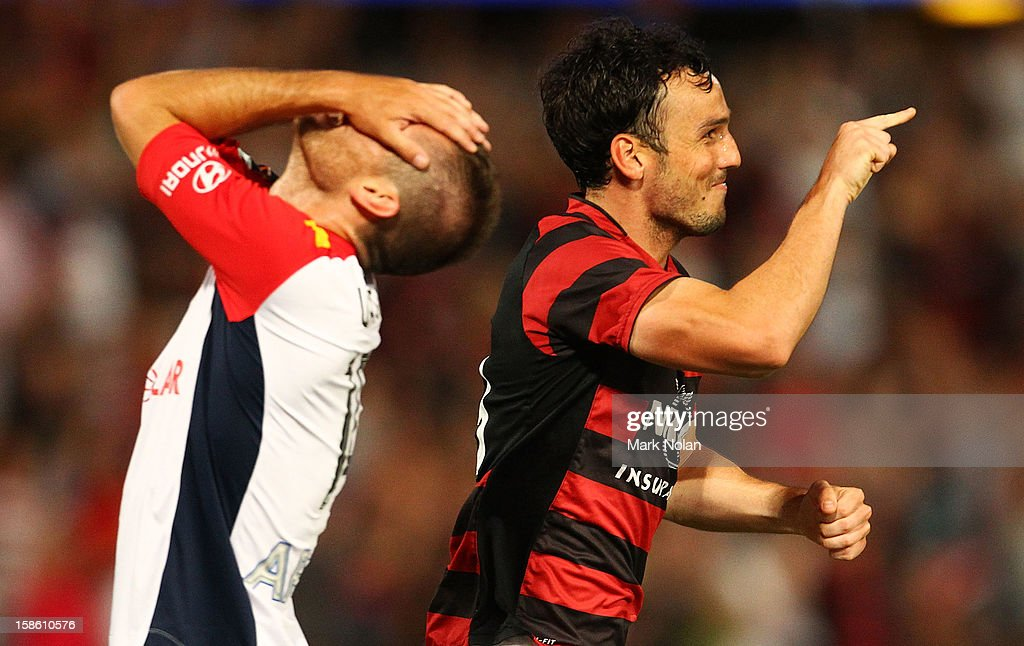 A-League Rd 12 - Western Sydney v Adelaide : News Photo