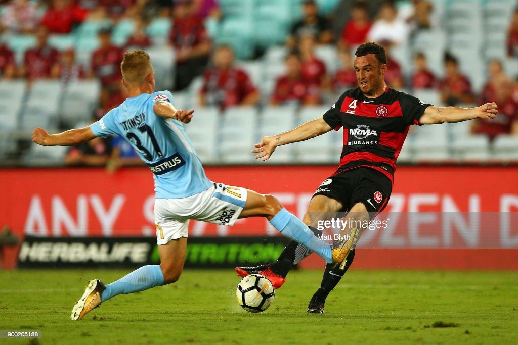 A-League Rd 13 - Western Sydney v Melbourne
