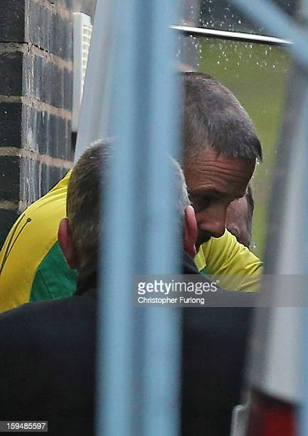 Mark Bridger leaves Mold Crown Court after pleading not guilty to the murder of April Jones on January 14 2013 in Mold Wales Mark Bridger denied...