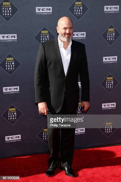 Mark Bridges attends the 2018 TCM Classic Film Festival Opening Night Gala 50th Anniversary World Premiere Restoration of The Producers at TCL...