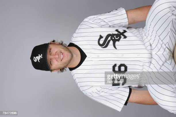 Mark Buehrle of the Chicago White Sox poses during photo day at Tucson Electric Park on February 24 2007 in Tucson Arizona